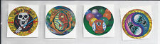 NEW 1994 COOL-LOOKING !!! FOUR STICKER LOT ALL  DIFFERENT  #15