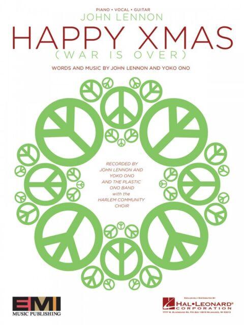 Happy Xmas War Is Over Sheet Music Piano Vocal John Lennon 000353137 ...