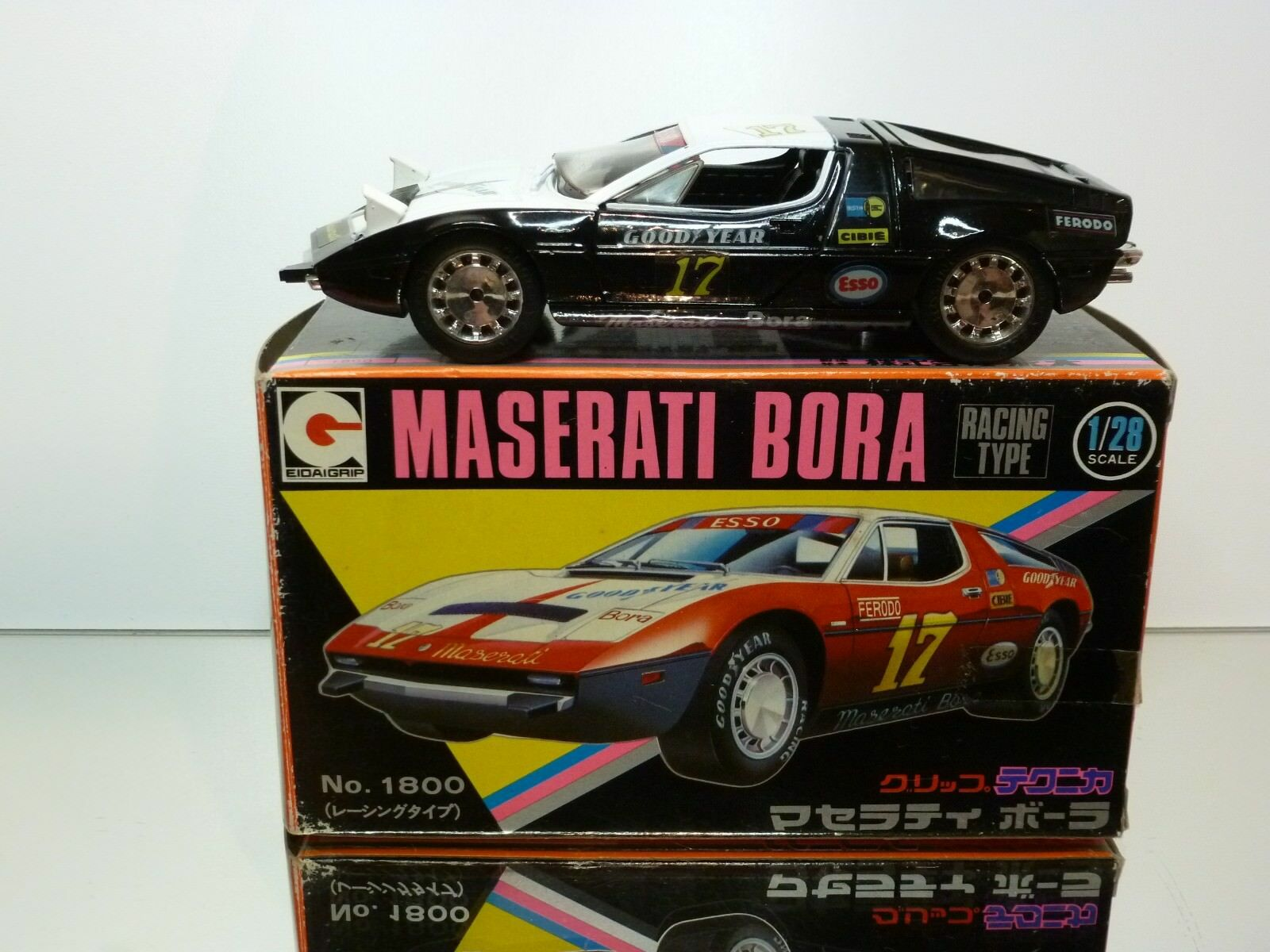 EIDAI GRIP 56 MASERATI BORA - GOOD YEAR  17 -  1 28 RARE- GOOD CONDITION IN BOX