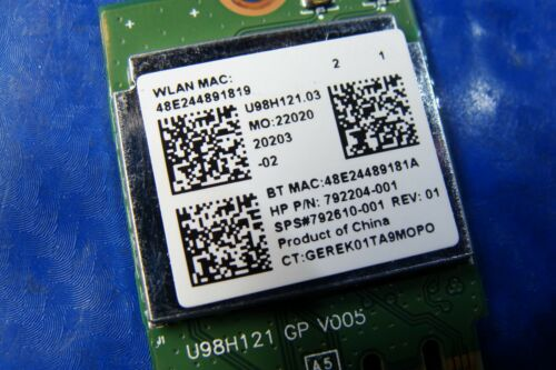 """HP Pavilion 23-q114 23/"""" Genuine All In One WiFi Wireless Card RTL8723BE"""
