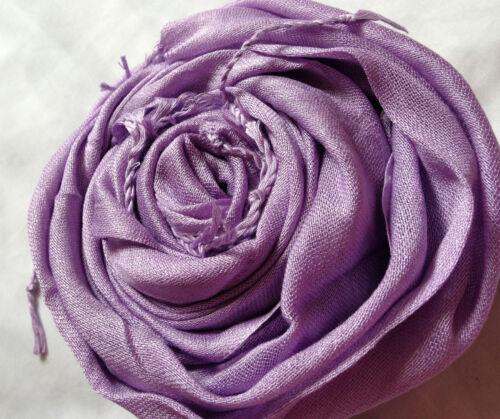 NUOVISSIMO Alla Moda Tinta Unita Maxi l/'hijab sciarpa-Molti Colore inserzione!