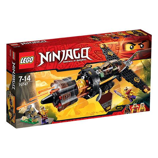 Lego® 70747 Ninjago® Coles Felsenbrecher Boulder Blaster Neu OVP