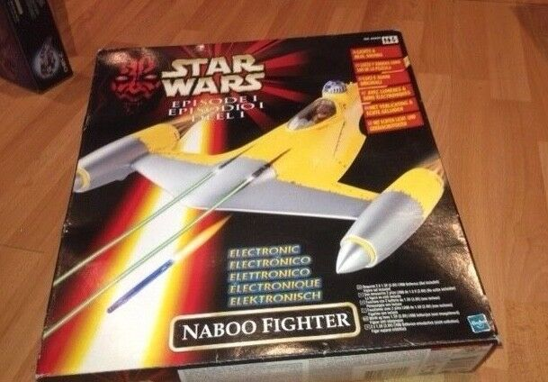 Star Wars EPISODE 1  NABOO FIGHTER (KENNER)