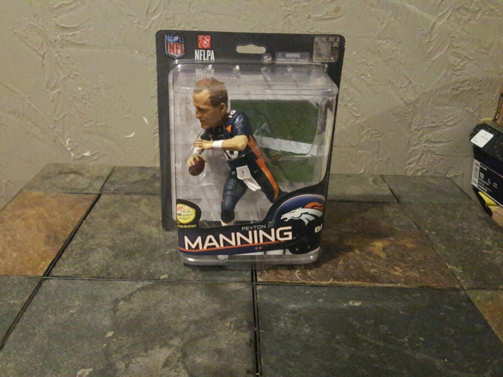 McFarlane SportsPicks Peyton Manning 2013 NFL 32 Juego Face CL   09 Broncos