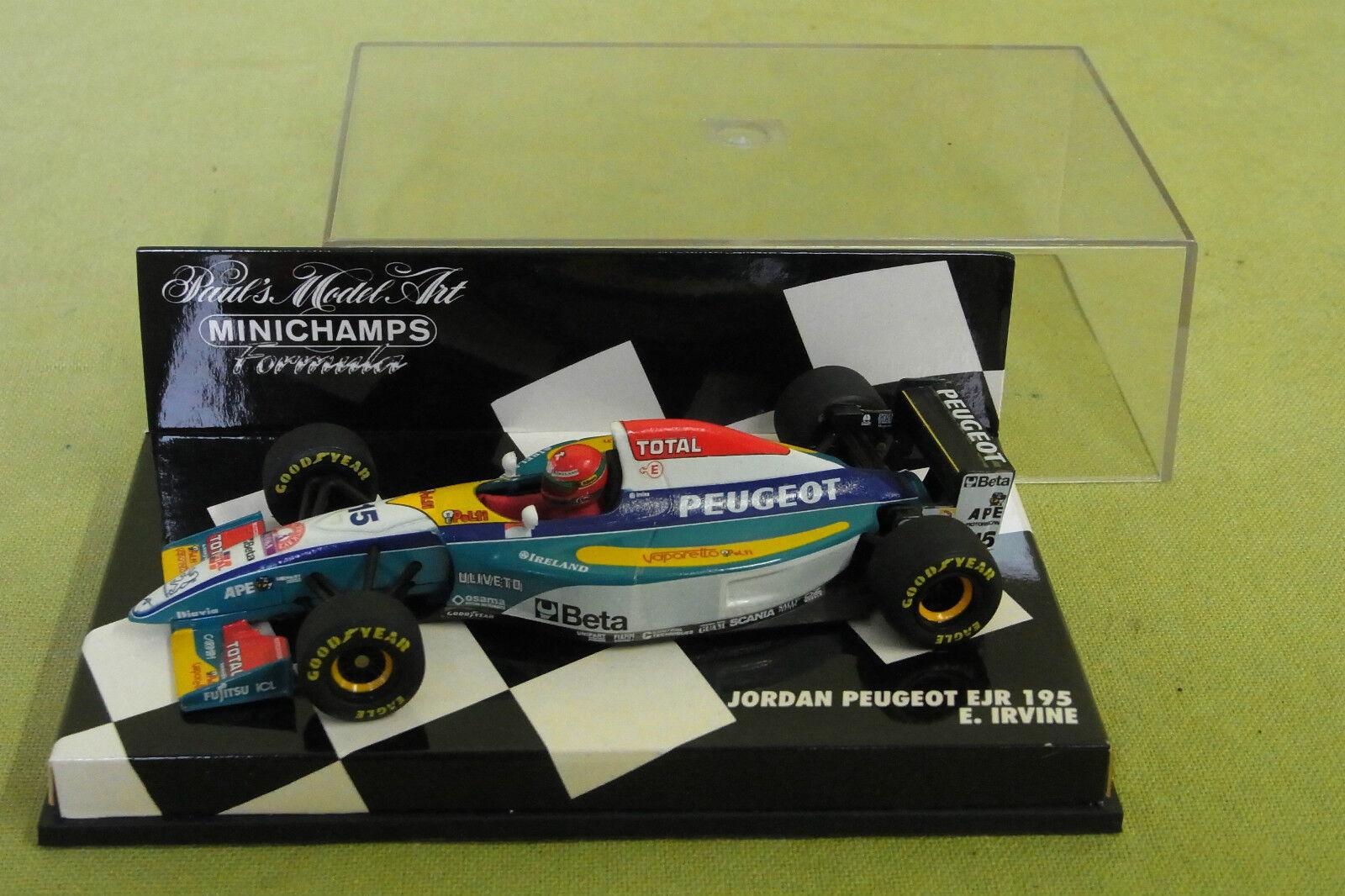 Minichamps - Jordan Peugeot - EJR 195 - E. Irvine