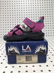 Vintage LA Gear Light Up Sandals 80s