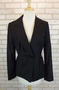 NEW-228-Ann-Taylor-Womens-Blazer-Coat-Sz-8-Jacket-NWT-Suit-Dress-Pinstripe-Wool