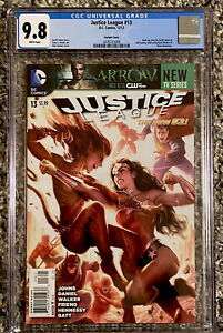 JUSTICE-LEAGUE-13-CGC-9-8-ALEX-GARNER-CHEETAH-VARIANT-2012-DC-COMICS-HTF