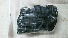 Medium Navy Blue Leather Open Fingered Work Gloves Finger Less Qty 12 Pair