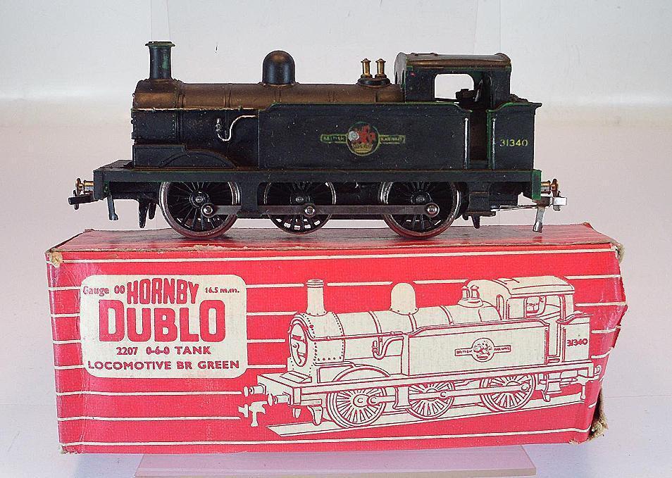 Hornby-DUBLO 00 h0 2207 0-6-0 Tank Locomotive Vapore OVP  5182
