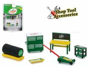 Werkstatt Set / Shop Tool Set - Turtle Wax - 6 pc`s - Greenlight 1:64