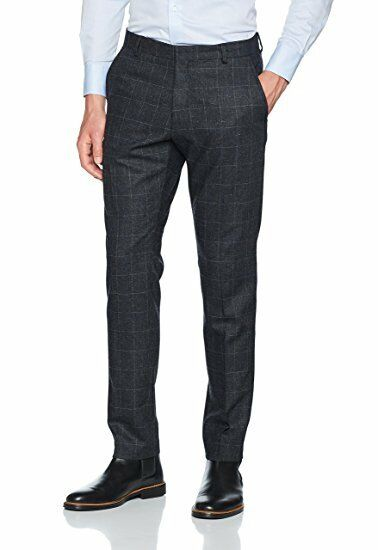 Selected Homme Costume Homme Pantalon Taille 26 Regular Neuf Rrp £ 70