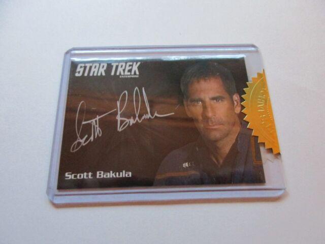 Quotable Star Trek Enterprise Series 1 Scott Bakula as Archer Silver Autograph