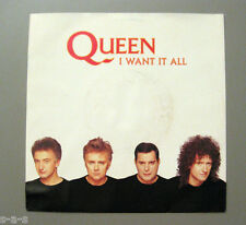 """Queen - I Want It All / Hang On In There  Parlophone 7"""" Single"""