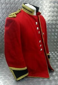 Genuine British Army HCMR Life Guards Bandsman's Red H Cav Tunic Faulty EBYT386