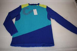 Cube Action round Neck Shirt Signature 3//4 Sleeve Size M #10666