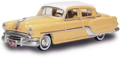 Gelb//Weiss H0 Pontiac Chieftain 1954 Oxford 87PC54002 201133495-1//87