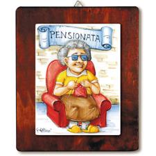 Quadro in ceramica idea regalo originale compleanno TIFOSO NAPOLI