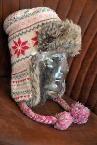 Warme Hübsche Mädchen Wintermütze Für Warme Ohren, Top Zustand QualitäT Und QuantitäT Gesichert