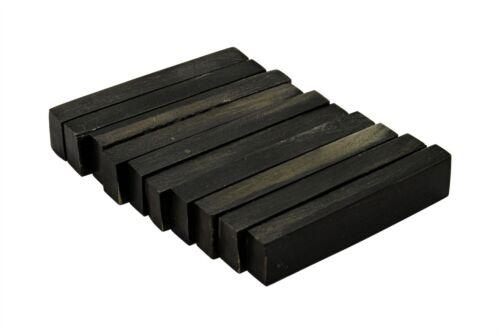 """Buffalo Horn Nut Blanks 10 pack 2.22/"""" x .47/"""" x .25/"""""""