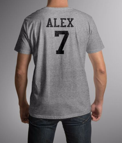 Personalised Stag Do Party Custom Printed T-Shirt Add Name or Number at Back B/&C