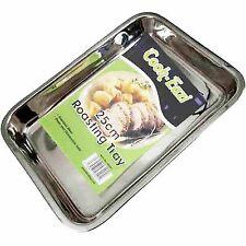 Grande Vassoio da forno in acciaio inox stufa arrostimento TIN 25cm di buona qualità, libero P+P