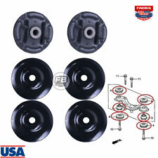 6x Rear Differential Arm Mounting Bushing Support Rubber For Hondacr V 97 12 Fits 1991 Honda Civic