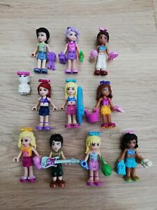 LEGO-friends-X10-qty-minifigure-amp-X30-Accessories-pack-x1-Free-Pet-gift