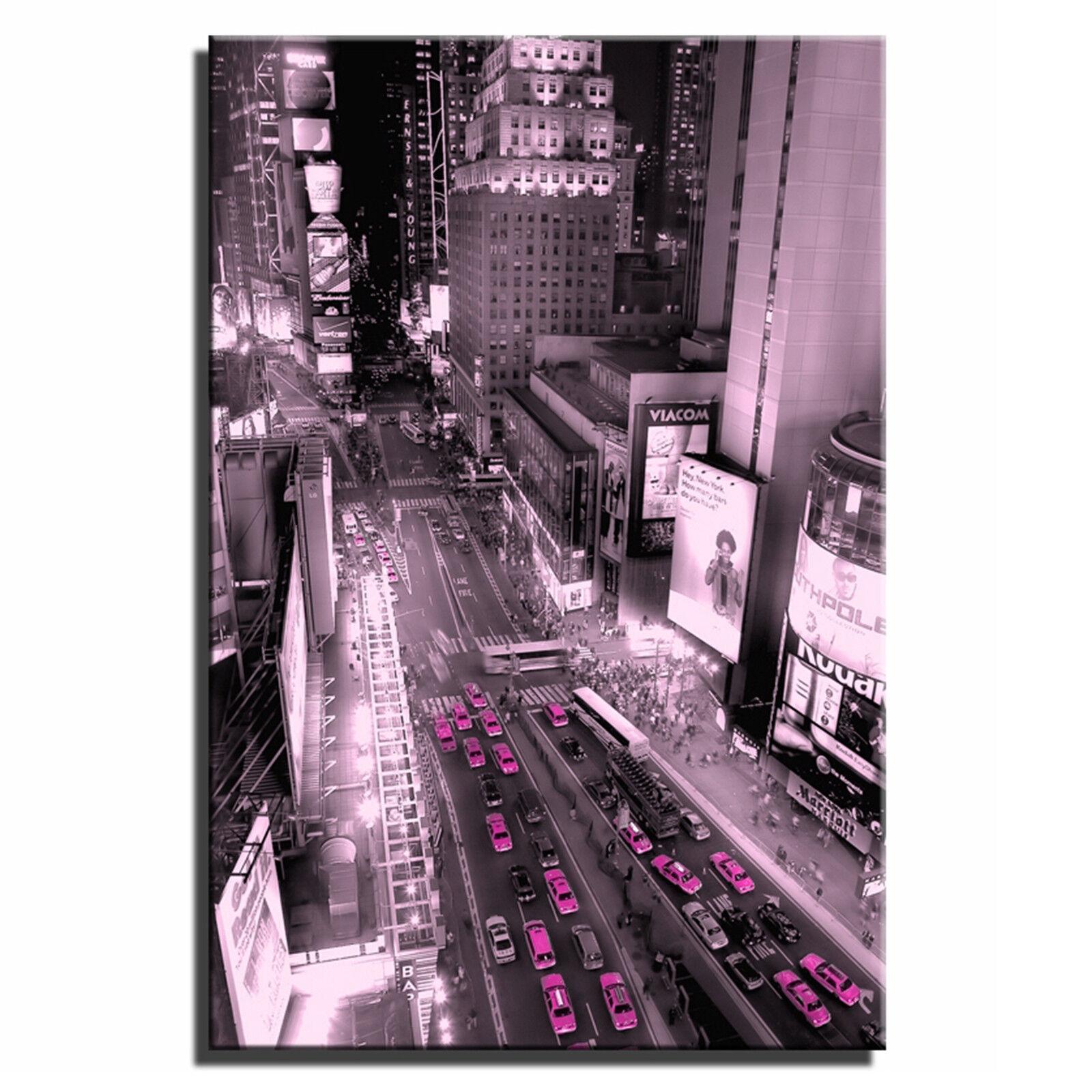 New York Taxi SINGLE LONA LONA LONA parojo arte Foto impresión 25 823e20