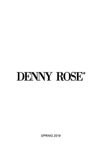 Pre Pantaloni order Denny Rose 2019 Primavera 911dd20000 wafqPCx