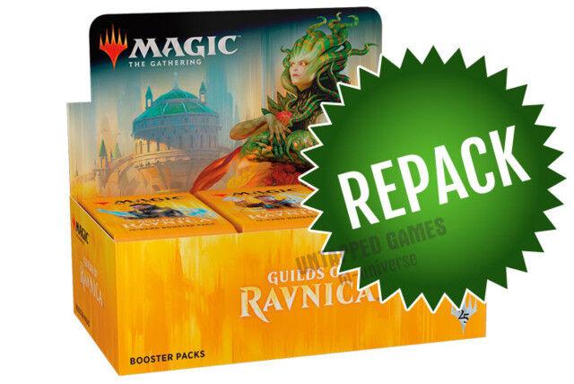 Guilds of Ravnica GRN Booster Box Repack! Magic! 36 Opened MTG Packs in Box