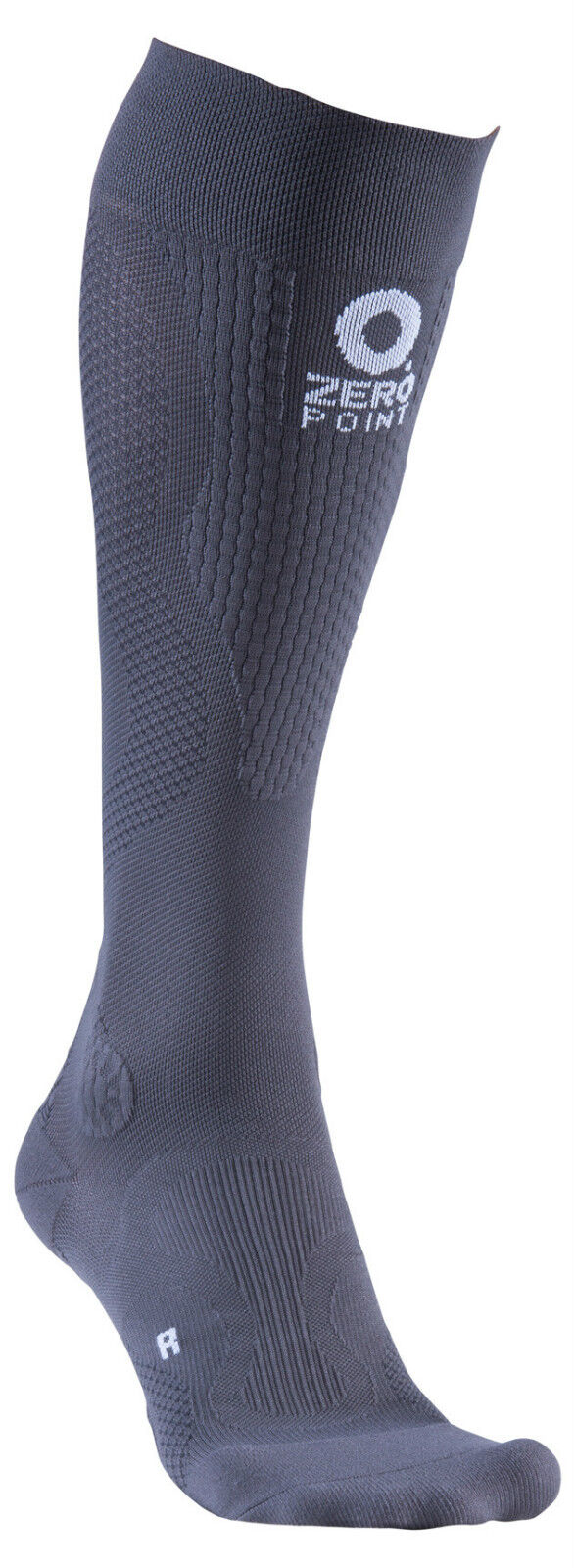 ZERO Punta Intenso Calze a compressione GRIGIO SCURO Cross Training Fitness