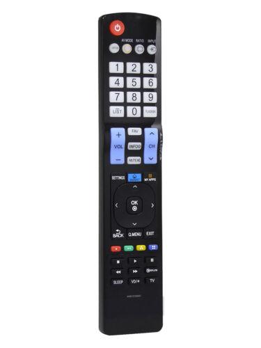 LG AKB73756567 Replaced LCD HDTV Remote for LG Smart TVs 39LB5800 47LB5800