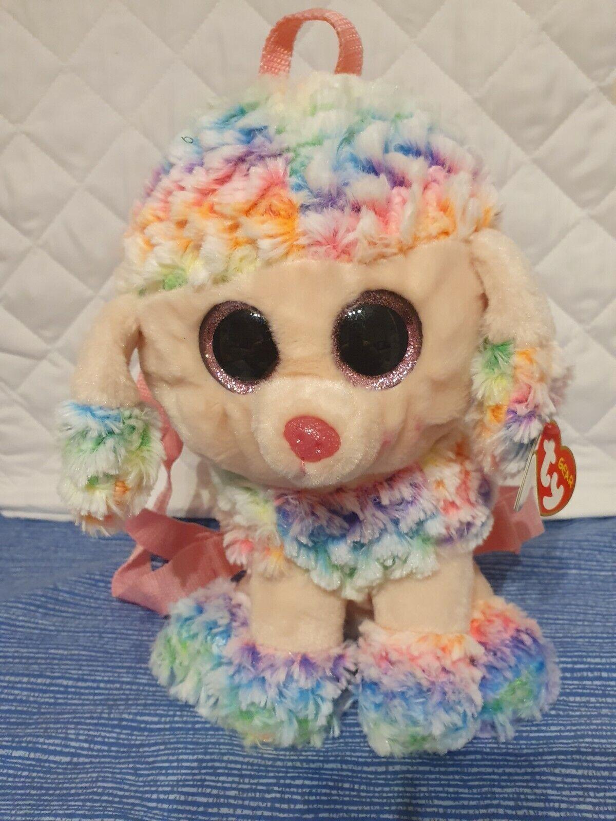 TY Rucksack, RAINBOW Dog, Multicoloured/ Bag/backpack/3+ year/BIRTHDAY