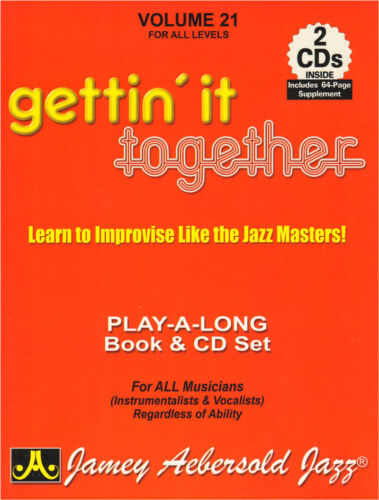 Jamey Aebersold Jazz Play-Along 21 Gettin/' It Together Noten mit 2 CDs