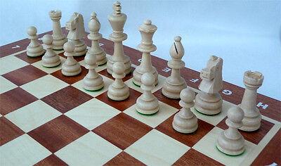 Schach Turnier - Schachspiel Staunton Nr. 5A, Schachbrett 49 x 49 cm