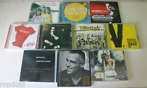 Lotto-Stock-10-CD-Nuovi-Sigillati-Musica-Pop-Italiana-vasco-ramazzotti