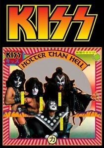 Kiss Hotter Than Hell Promo High Gloss Photo Poster Free Postage Ebay