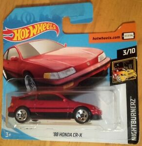 HOT-WHEELS-2019-039-88-HONDA-CR-X-1991-NIGHTBURNERZ-Scala-1-64-Malaysia-FYB70