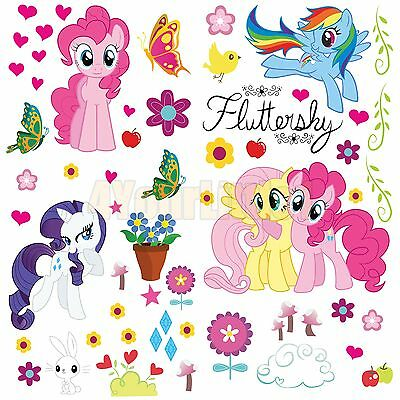 My Little Pony NEW STYLE Wall Sticker Vinyl Kids Room Decal Boys Wall Decal Art