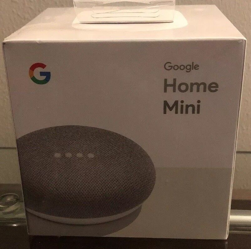 New In Box. Google Home Mini (GA00210-US) Smart Assistant Speaker - Chalk
