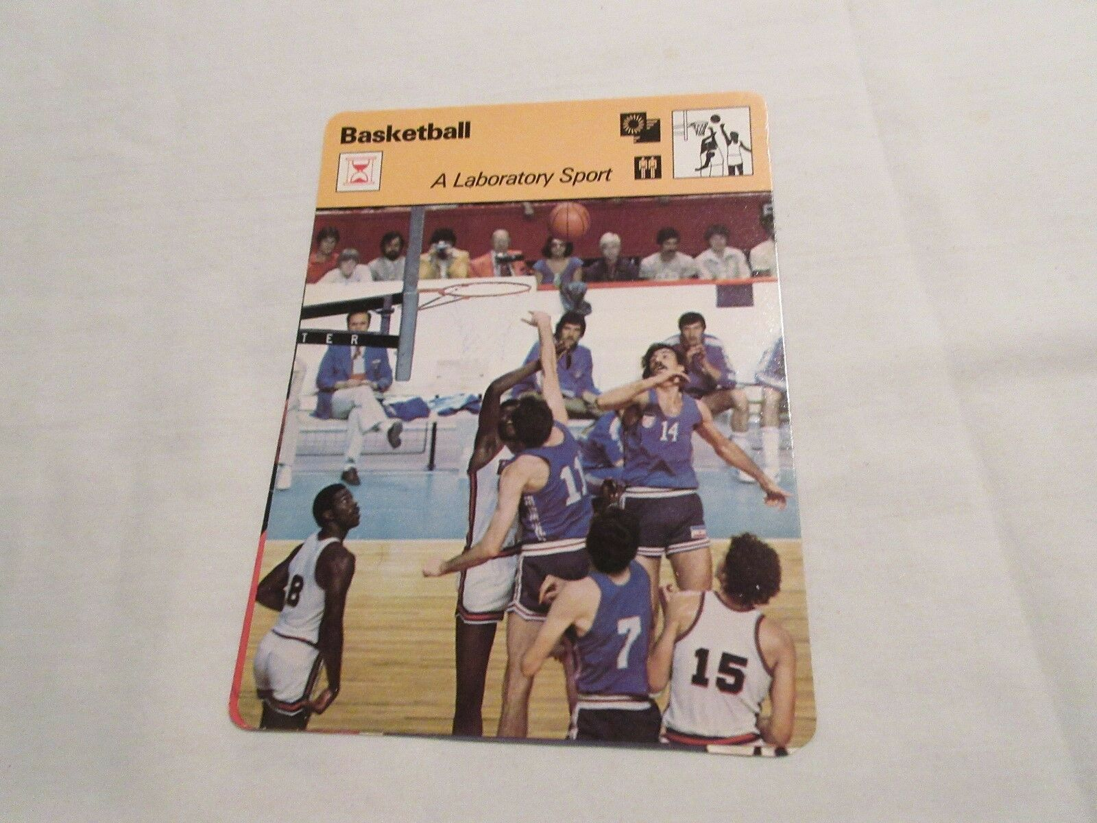 Sportscaster Cards , 1978 , BASKETBALL , A Laboratory S