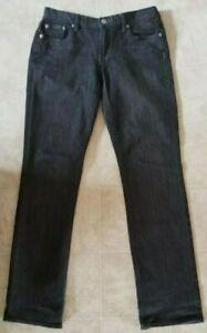 J-Crew-NEw-Sexy-Matchstick-Black-Straight-Leg-Jeans-30-x-32