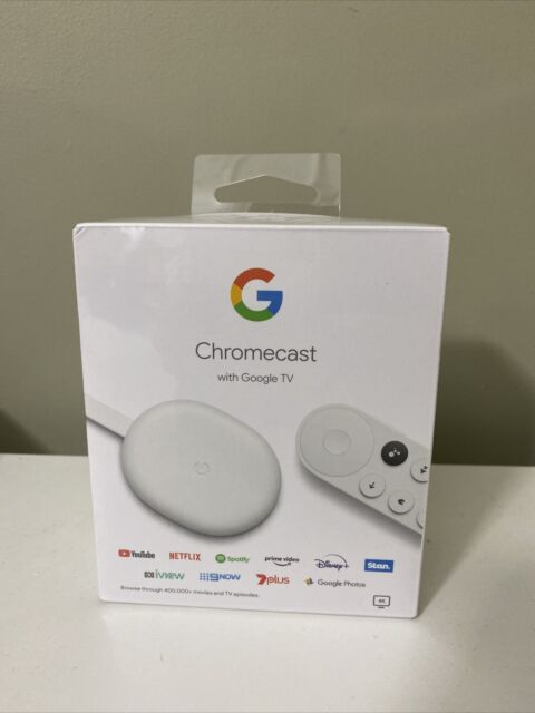 Google Chromecast with Google TV Streaming Device**BRAND NEW IN PACKAGING 2021