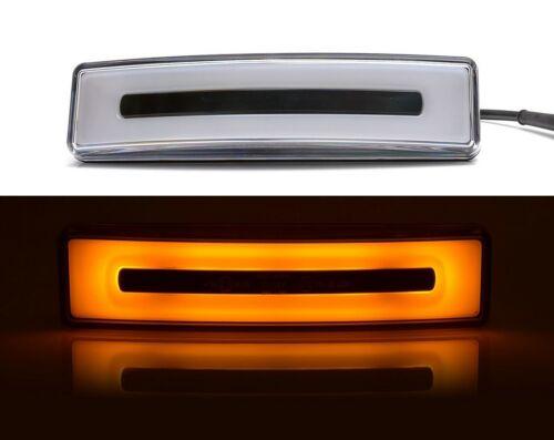 2x Arancio Posizione Neon Luci Led Tetto Abitacolo Parasole per Scania 24v