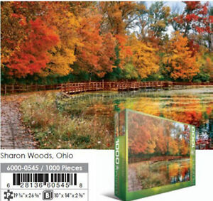 Sharron Woods, OH 1000 piece Jigsaw Puzzle EG60000545 - Eurographics