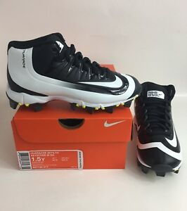 14ea57e3108c2 New Nike Kids Huarache 2KFilth Keystone Mid Baseball Cleats Size 1Y ...