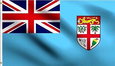 3x5 Fiji Flag 3 X5 Banner Brass Grommets House Banner Premium Fade Resistant Ebay