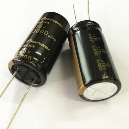 5pcs 3000uF 16V 16x32mm ELNA For Pioneer HiFi Audio Capacitor MADE IN JAPAN