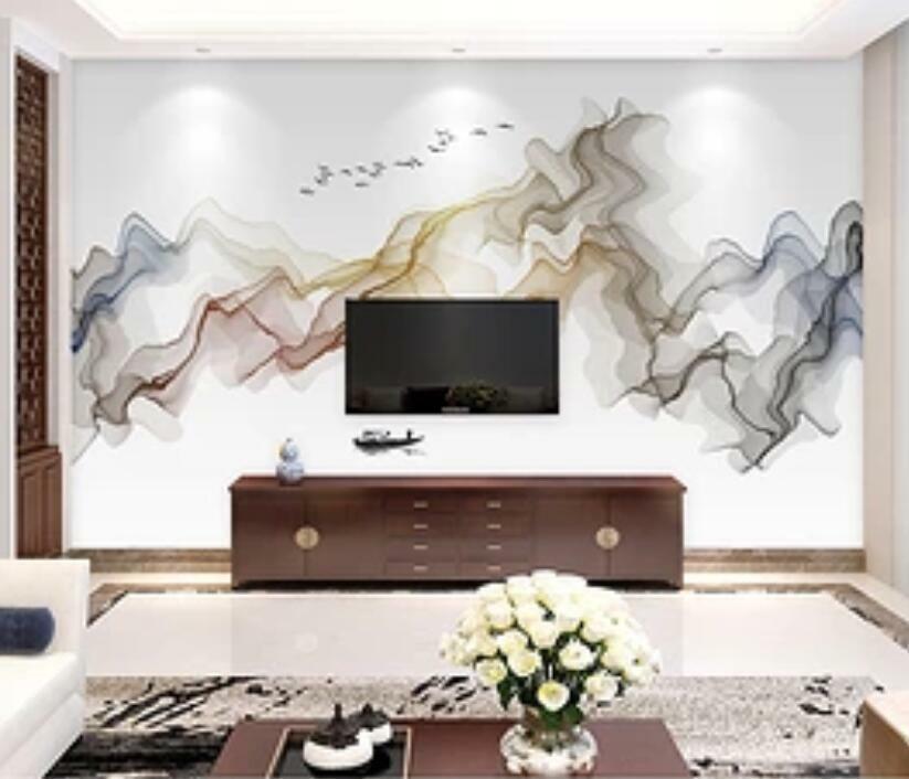 3D Abstrakte Malerei H1792 Tapete Wandbild Selbstklebend Abnehmbare Aufkleber We